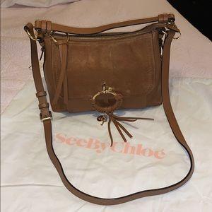See By Chloe brown leather & suede handbag